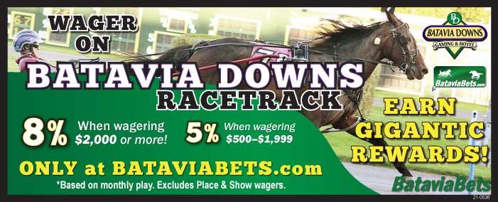Paid to Play 8percent on Batavia